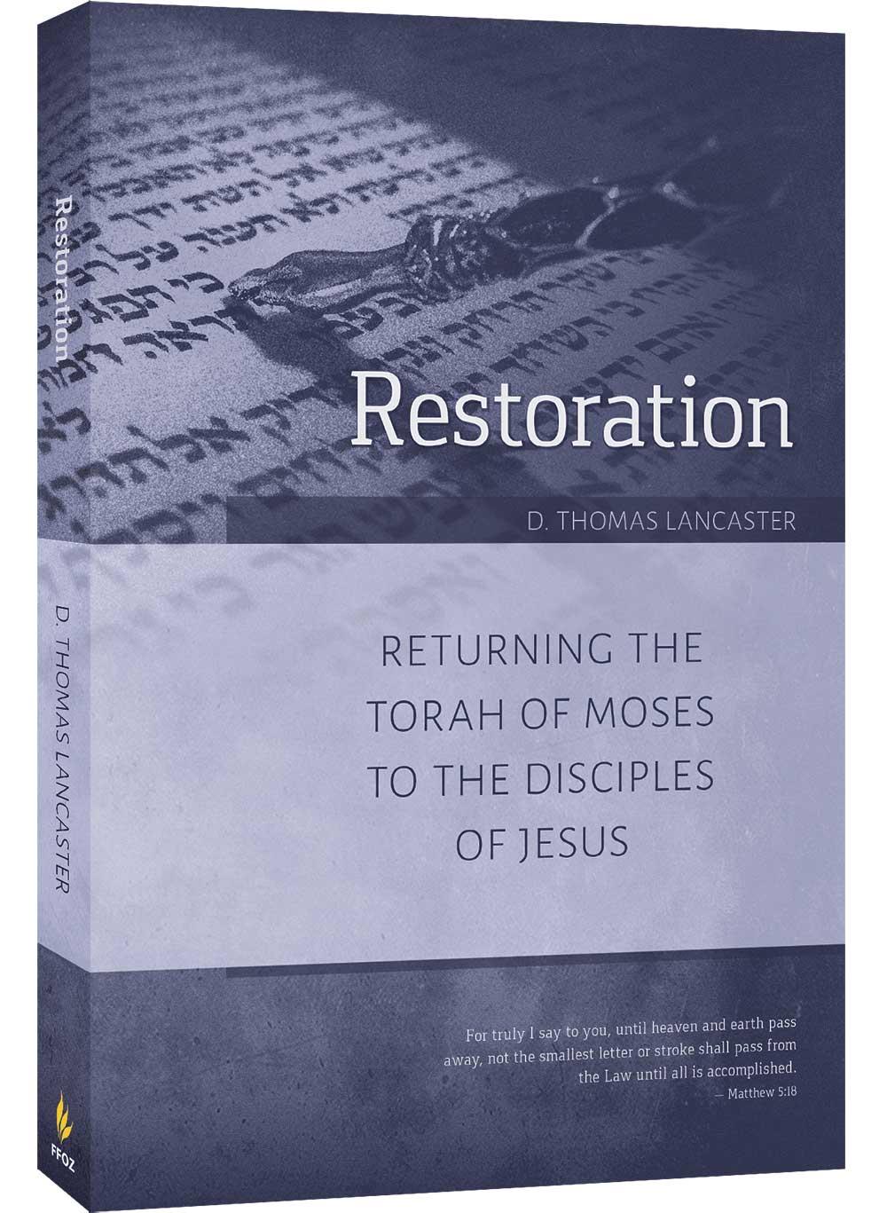 Restoration returning the torah to the disciples of jesus restoration book fandeluxe Images